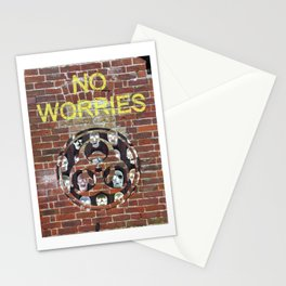 NO WORRIES 01 Stationery Cards