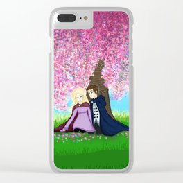 Sophie and Fitz Clear iPhone Case