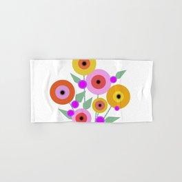 Floral Potpourri Hand & Bath Towel