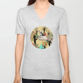 Found You There  Unisex V-Neck