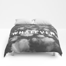 WHATEVER CLOUDS Comforters