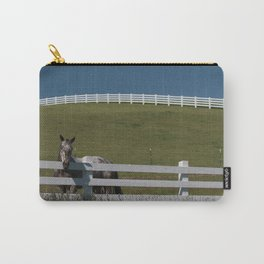 Horse in the Palouse Carry-All Pouch