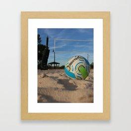 Volleyball Framed Art Print