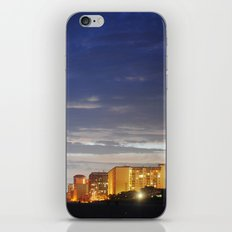 night time beach iPhone Skin
