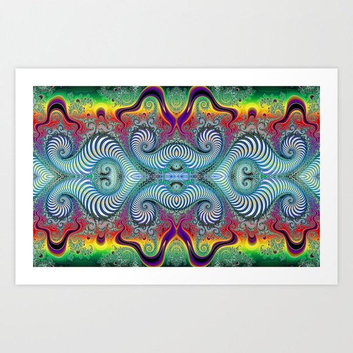 BBQSHOES: Wurburbo Digital Art Design Art Print