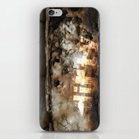 dirty dancing iPhone & iPod Skins featuring dirty by Didier LAHELY