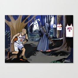 Jason Kidd cheating basketball death Canvas Print