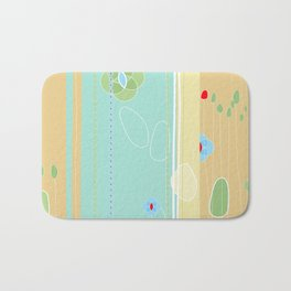izzy may's garden Bath Mat