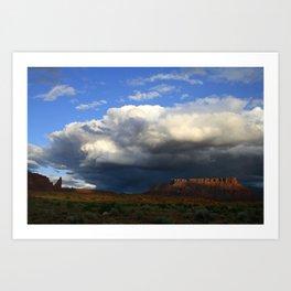 Storm & Sandstone Art Print