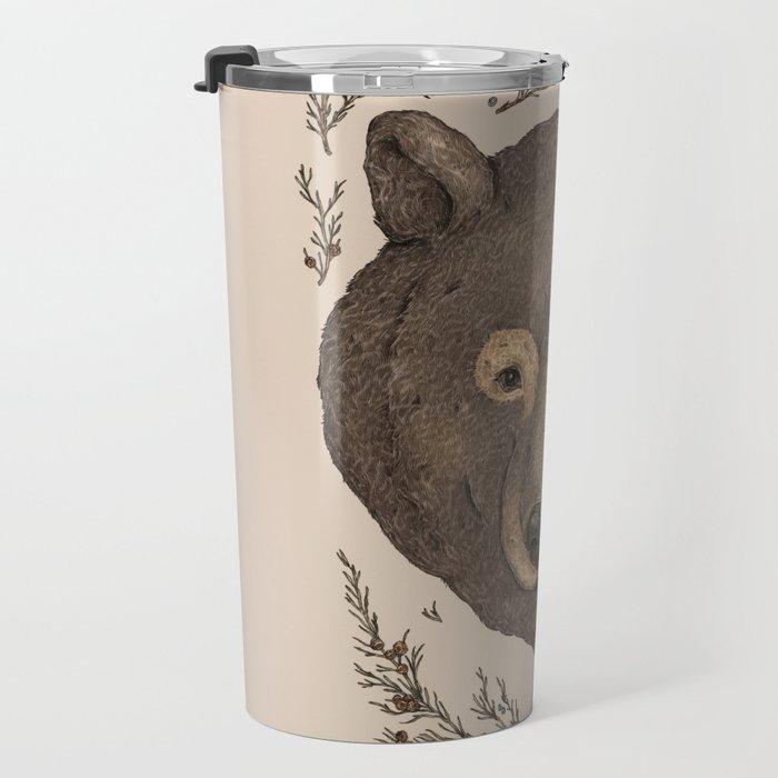 The Bear and Cedar Travel Mug