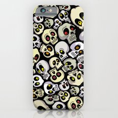 Skull Pattern Slim Case iPhone 6