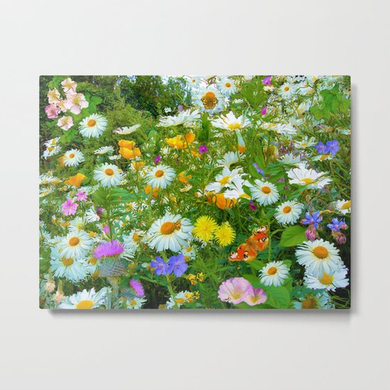 Daydream ( I fell asleep beneath the flowers) Metal Print