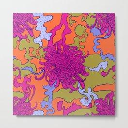 Japan chrysanthemum flower Metal Print