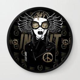 ANGEL A. Wall Clock