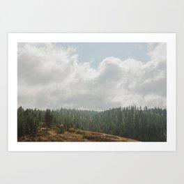 Eastern Oregon Art Print