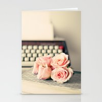 writing Stationery Cards featuring Writing Inspiration by Caroline Mint