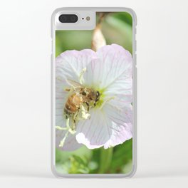 Bees and Buttercups Clear iPhone Case