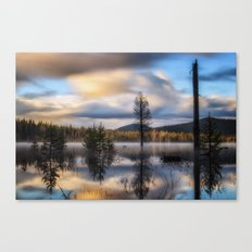It Does Exist a beautiful dreamy photograph of Dry Lake Canvas Print
