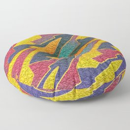 Endless Dream Loop Tessellation Floor Pillow