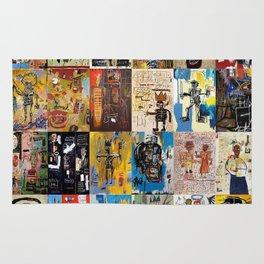 Basquiat Montage Rug