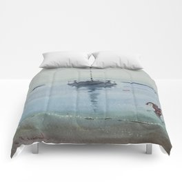 Morning at Sea Comforters