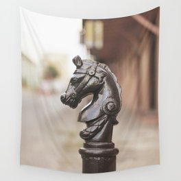 New Orleans Hitching Post #3 Wall Tapestry