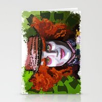 mad hatter Stationery Cards featuring Mad Hatter by grapeloverarts