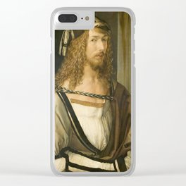 Self Portrait by Albrecht Durer, 1498 Clear iPhone Case