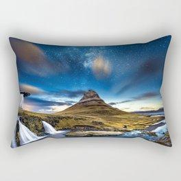 Aliens are coming Rectangular Pillow