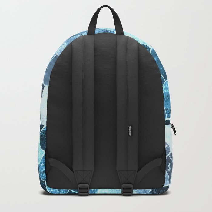 REALLY MERMAID SILVER BLUE Backpack