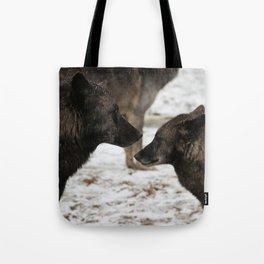 Wolves I  Tote Bag