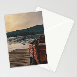 Lake Bled, Slovenia Stationery Cards