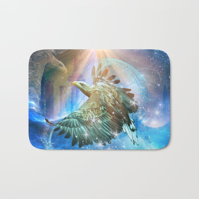 Amazing eagle Bath Mat