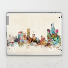 detroit michigan skyline Laptop & iPad Skin