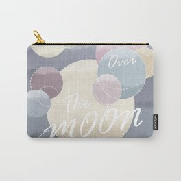 I'm Over the Moon Planetary Landscape Carry-All Pouch