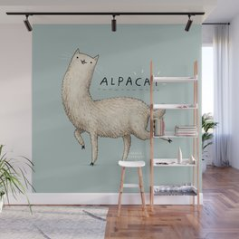 Alpacat Wall Mural