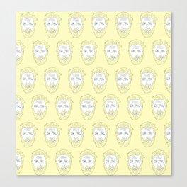 Yellow Hardy Canvas Print