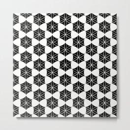 Flower of Life-Moroccan mosaic Metal Print