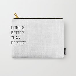 Quote of the day N1 Carry-All Pouch