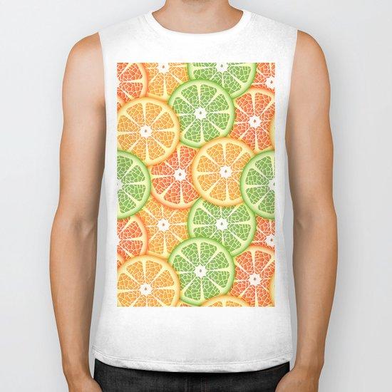 Citruses Biker Tank