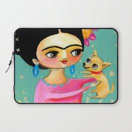 Sweet Chihuahua dog Laptop Sleeve
