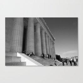 Lincoln Memorial III Canvas Print