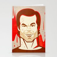 dexter Stationery Cards featuring Dexter by Martynas Juchnevicius