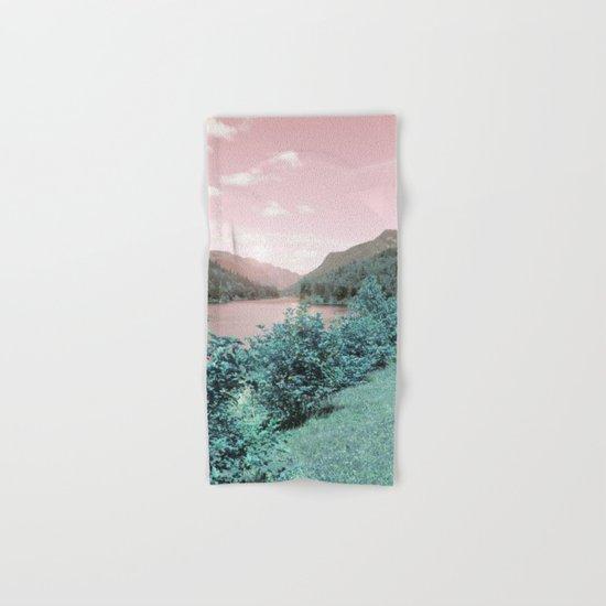 Pink sky Hand & Bath Towel