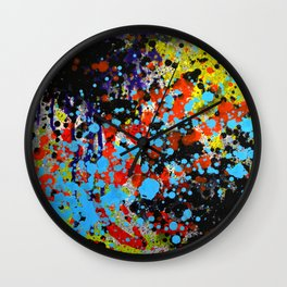Untitled Wounds Wall Clock