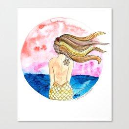 Sirena Tahina Canvas Print
