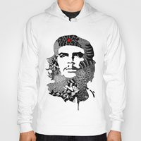 che Hoodies featuring CHE by Rebecca Bear