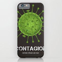Contagion - Alternative Movie Poster iPhone Case