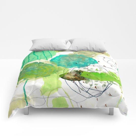 green experiments III Comforters