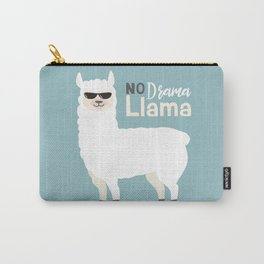 NO DRAMA LLAMA Carry-All Pouch